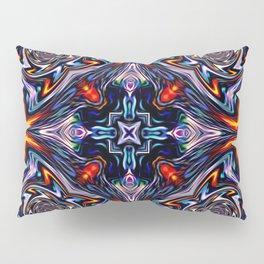 Fire Grid Pillow Sham