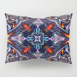 Fire Grid Pillow Sham