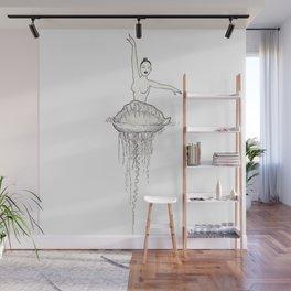 Ballet dancer Wall Mural