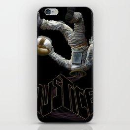 Justice-Planisphere iPhone Skin