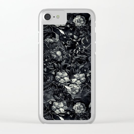 Darkness Clear iPhone Case