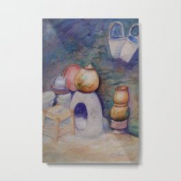 Berber Kitchen WC170413a-11 Metal Print