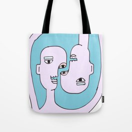 Abstract Together Tote Bag