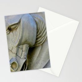 Horse of Stone Stationery Cards