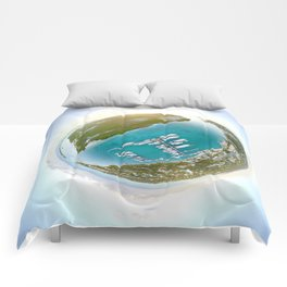 Tiny Planet Turks and Caicos Comforters