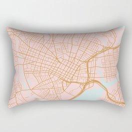 New Haven map, Connecticut Rectangular Pillow