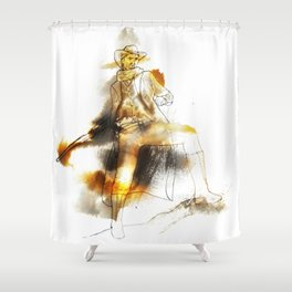 The Gunman Shower Curtain