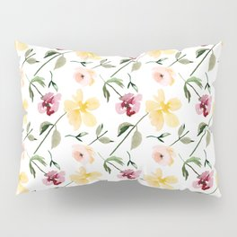 Watecolor Floral Repeat Pattern 1 Pillow Sham