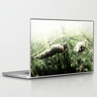 grass Laptop & iPad Skins featuring grass by emegi