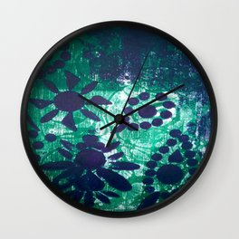 Green&Blue Wall Clock