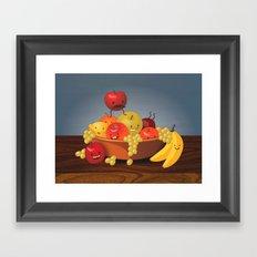 Fruit Bowl Framed Art Print