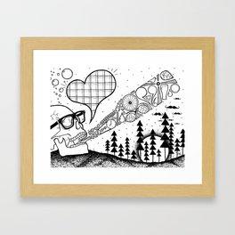 Bare Essentials Framed Art Print