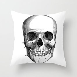 Skull 6 Throw Pillow
