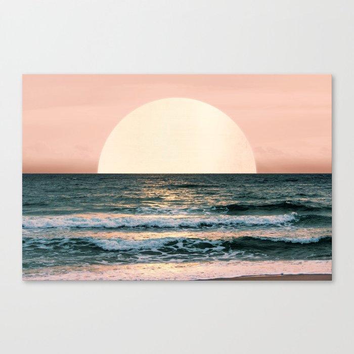 Summer Sunset Leinwanddruck