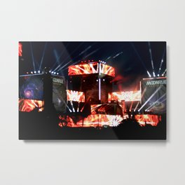 MOONRISEFEST2017 - Excision001 Metal Print
