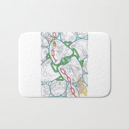 Emerald Reflection Bath Mat