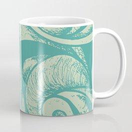 swirl (green and tan) Coffee Mug