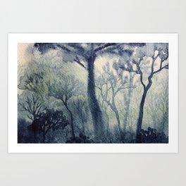 Memory Landscape 4 Art Print