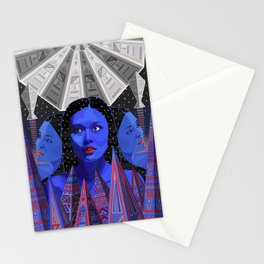 Satellite City Stationery Cards