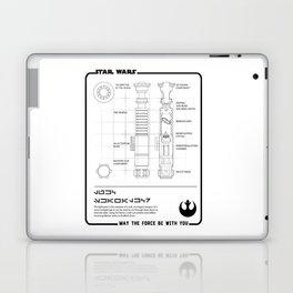 STAR - lightsaber Laptop & iPad Skin