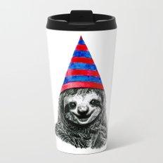 Party Sloth Travel Mug