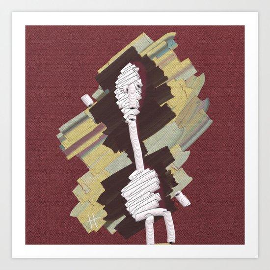 PaperMAN Art Print