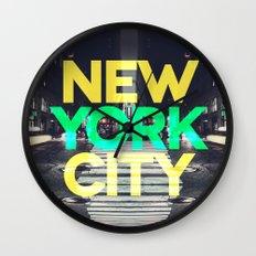 New York City 6 Wall Clock
