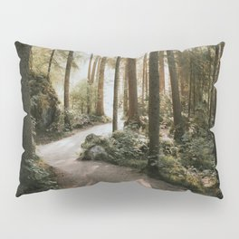 Lost in the Forest - Landscape Photography Pillow Sham