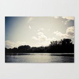 Tranquilité Canvas Print