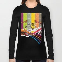 Afro Beats Music Long Sleeve T-shirt
