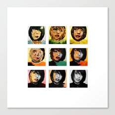 The Many Faces.  Canvas Print