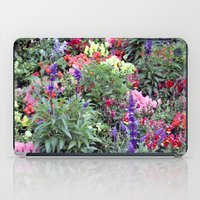 sweden iPad Cases featuring Sweden Flowers by Cynthia del Rio