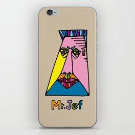 Mr.Jef iPhone Skin