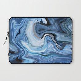 Marble texture print Laptop Sleeve