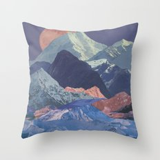 Rainbow Ranges Throw Pillow