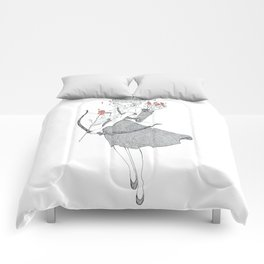 The Rose (June 22 - July 22) Comforters