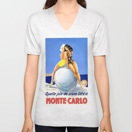Monaco Girls Unisex V-Neck