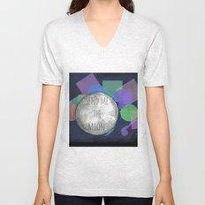 send me the moon Unisex V-Neck