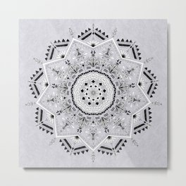 Star Mandala Metal Print