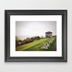 Plains of Abraham Framed Art Print