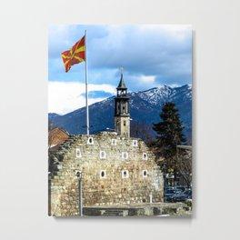 Prilep, Macedonia Metal Print