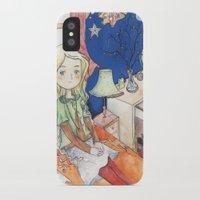 luna lovegood iPhone & iPod Cases featuring Luna Lovegood by malipi