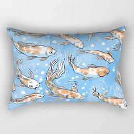 Don't Be Koi Rectangular Pillow