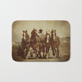 Team Of Horses Bath Mat