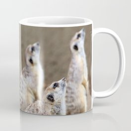 Meerkats on the Lookout by Reay of Light Coffee Mug