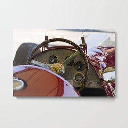 1950 Ferrari 212 F1 Interior Metal Print