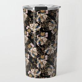 Klimt arabesque 3 Travel Mug