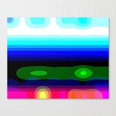 Metaphorical Sunset Canvas Print