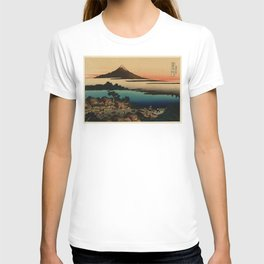 Dawn at Isawa in Kai Province T-shirt