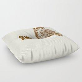 Owls Are Stupid Floor Pillow